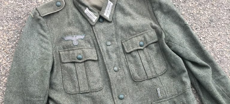 Evaluating and Upgrading a Reproduction WWII German Field Blouse